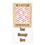 WANTED Poster Photo Frame Picture Card