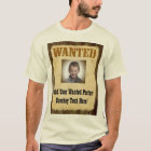 Wanted Poster, Vintage Picture Frame T-Shirt