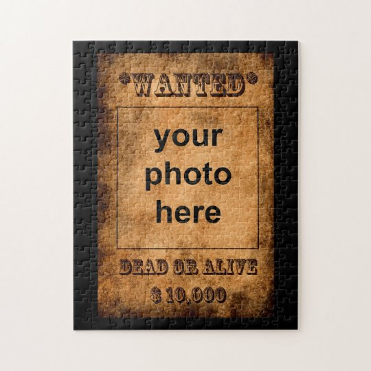 'Wanted' puzzle