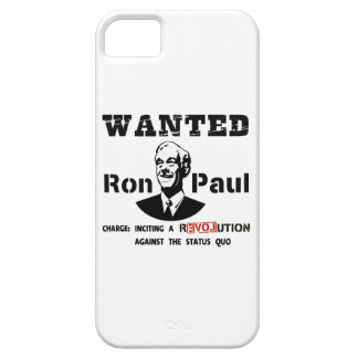 WANTED Ron Paul Charge: Inciting a rEVOLution iPhone 5 Cover