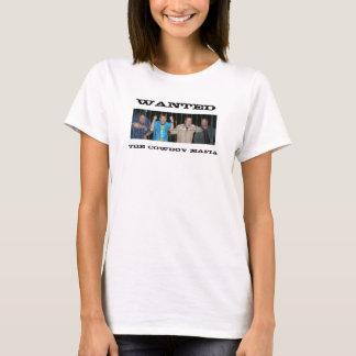 WANTED, The Cowboy Mafia T-Shirt