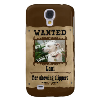 Wanted WildWest Poster Custom Photo Speck Template