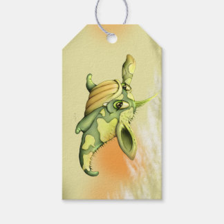 WAOU ALIEN MONSTER CUTE CARTOON GIFT TAG MATT