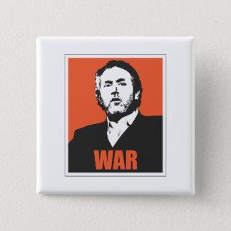 War 2 Inch Square Button