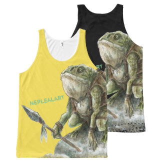 WAR All-Over-Print TANK TOP