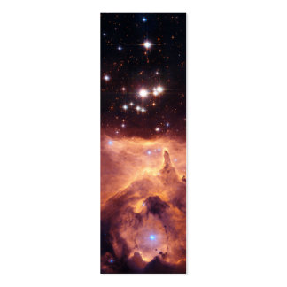 War and Peace Nebula Double-Sided Mini Business Cards (Pack Of 20)