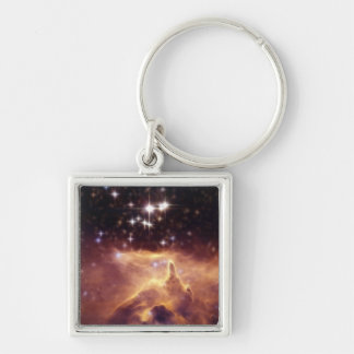 War and Peace Nebula Pismis 24 Keychain
