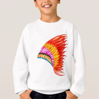 War Bonnet Art Sweatshirt
