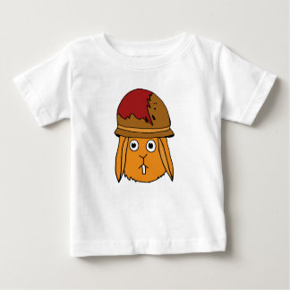 War Bunny Hand-Drawn Baby T-Shirt