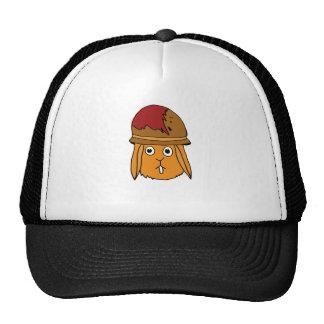 War Bunny Hand-Drawn Trucker Hat