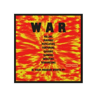 WAR: Concept Art on Wood by Gary Revel