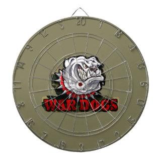 war dogs dartboard