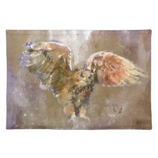 War Eagle water color Art Placemat