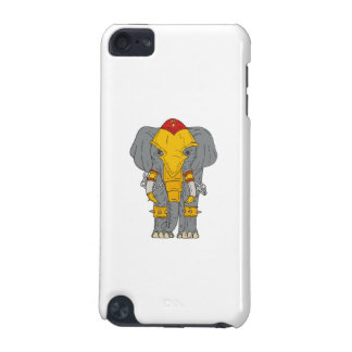 War Elephant Drawing iPod Touch (5th Generation) Cases
