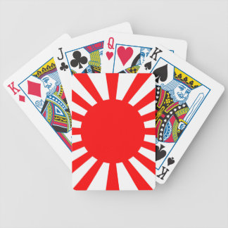 War Flag of the Imperial Japanese Army Bicycle Playing Cards