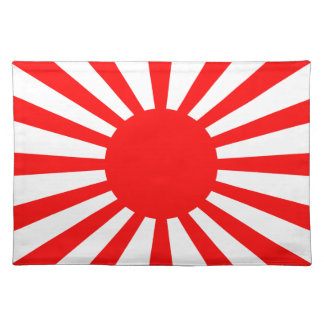 War Flag of the Imperial Japanese Army Placemat