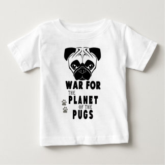 war for planet of pugs cool dog baby T-Shirt