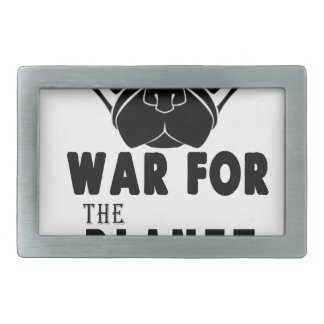 war for planet of pugs cool dog belt buckle