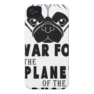 war for planet of pugs cool dog iPhone 4 Case-Mate cases