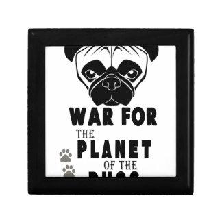 war for planet of pugs cool dog keepsake box