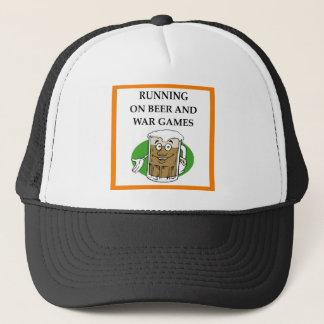 war game trucker hat