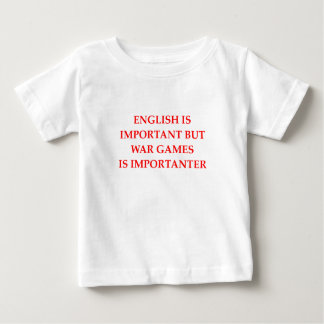 war games baby T-Shirt