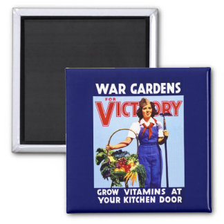 War Gardens for Victory Magnet