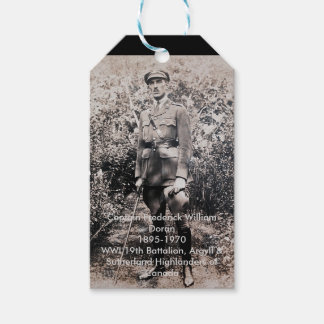 War Hero Gift Tags Pack Of Gift Tags