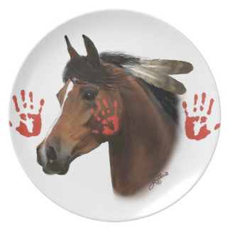 War Horse Collector Plate