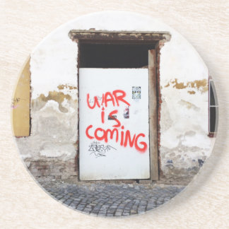 War Is Coming Beverage Coaster