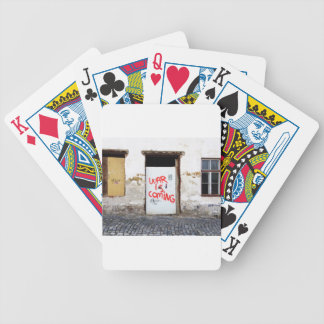 War Is Coming Bicycle Playing Cards
