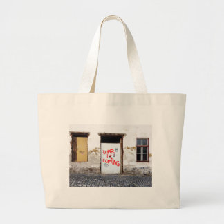 War Is Coming Large Tote Bag