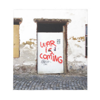War Is Coming Notepad