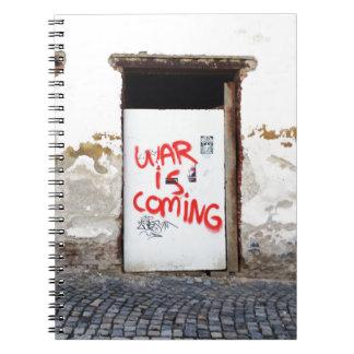 War Is Coming Spiral Notebooks