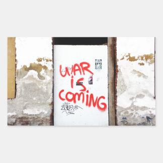 War Is Coming Sticker