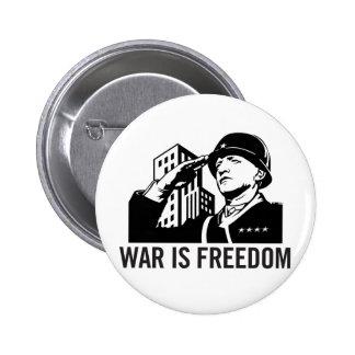 War is Freedom Button
