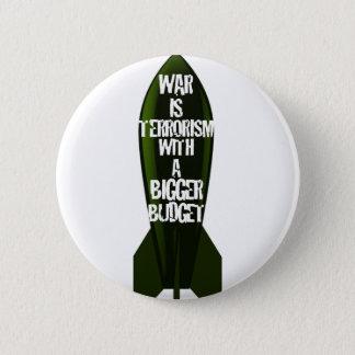 War Is Stupid 2 Inch Round Button
