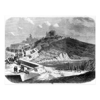 War of Duchies, Danish fortifications Postcard