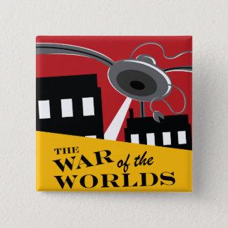 """""""War of the Worlds"""" '38 Logo Button"""