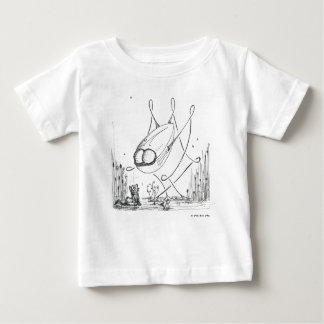 War of the Worlds Remix: Let's be Friends Baby T-Shirt