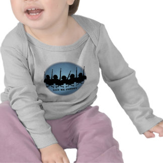 War & Peace Baby Shirt Lest We Forget T-shirt