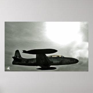 war plane poster