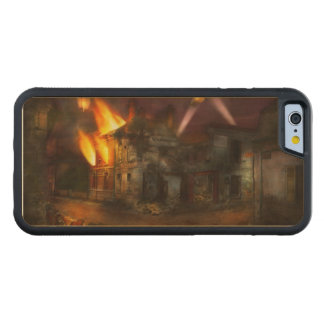 War - WWI - Not fit for man or beast 1910 Carved Maple iPhone 6 Bumper Case