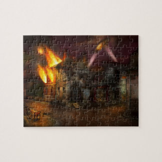 War - WWI - Not fit for man or beast 1910 Jigsaw Puzzle