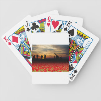 War Zone Bicycle Playing Cards