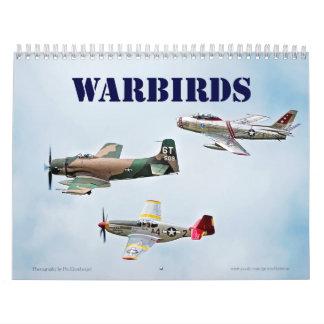 Warbirds Wall Calendar
