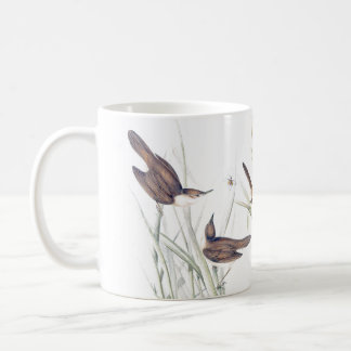 Warbler Birds Wildlife Animals Reeds Mug