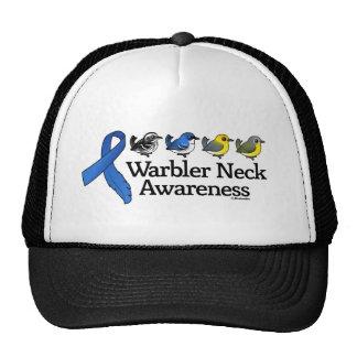 Warbler Neck Awareness Ribbon Trucker Hat