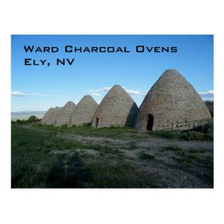 Ward Charcoal Ovens Postcard