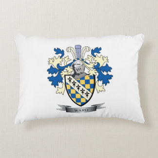 Ward Coat of Arms Decorative Pillow